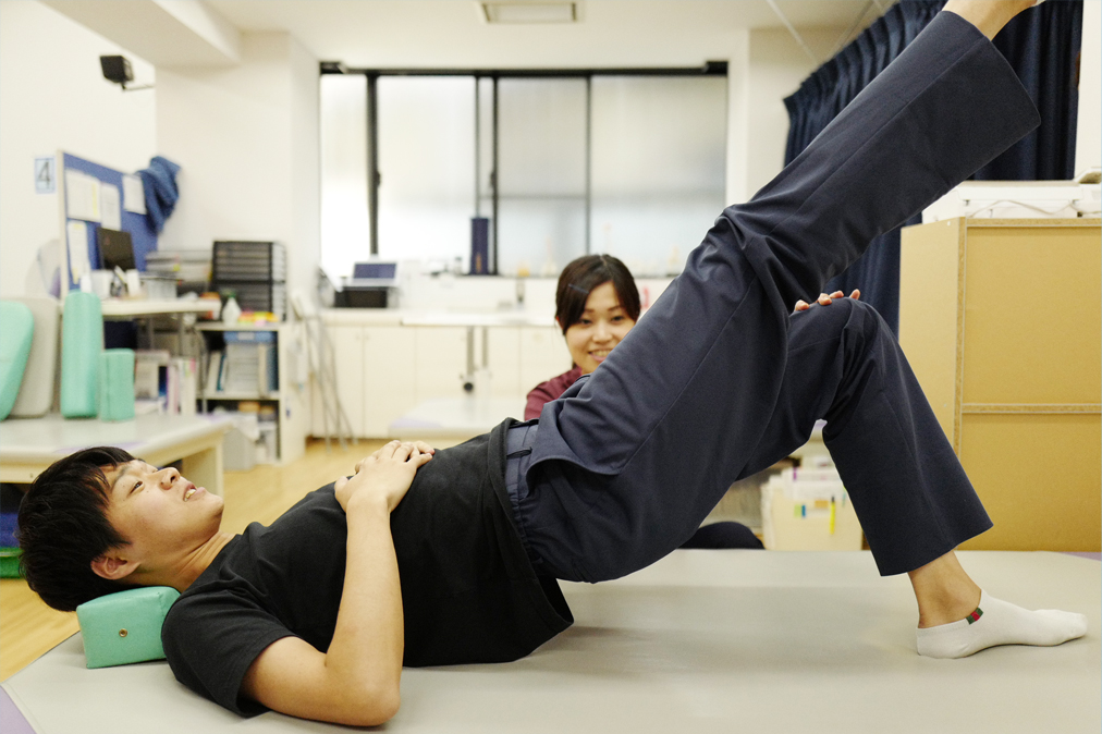 競技スポーツ選手の体幹トレーニング